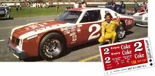CD_2367 #2 Dale Earnhardt Sr. 1979 Coke Pontiac Ventura   1:18 scale decals