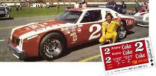 CD_2367 #2 Dale Earnhardt Sr. 1979 Coke Pontiac Ventura   1:64 decals ~OVERSTOCK