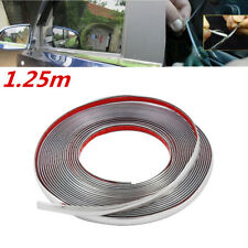 3M Adhesive Car Door Edge Strip Scratch Guard Trim Molding Protector Kit Silver