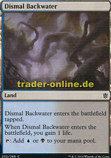 2x Dismal Backwater (Tristes Gewässer) Khans of Tarkir Magic