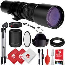 500mm/1000mm Lens for Canon EF EOS 80D 77D 70D 60D 7D 6D 5D T7i T7s T6i T6 T5