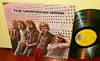THE UNSPOKEN WORD Lp  1st Press (Presswell)~Self Titled~1970~Psych Blues~NM