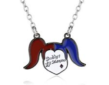 NEW Suicide Squad Harley Quinn Necklace - Daddy's Lil Monster