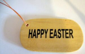 """TIMBER """"HAPPY EASTER"""" GIFT TAGS! PERSONALISE THEM TO TIE ON A SPECIAL GIFT!"""