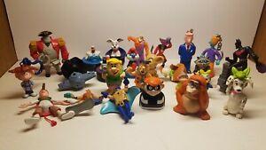 25 Assorted Loose Lot McDonald's Toys Disney Flintstones Vader Smurf Batman Doug
