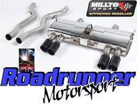 Milltek Exhaust System SSXBM941 BMW M3 E90 E92 E93 Stainless Black Tails 80mm