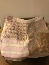 RARE RACHEL ASHWELL Shabby Chic King Quilt   ** Great Pattern**