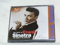The Best Of Frank Sinatra, 40 Early Classics New 2 CD Unsealed