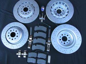 Maserati Ghibli Quattroporte SQ4  Front  Rear  Brake Pads and Rotors TopEuro