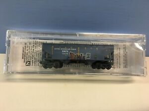 N Scale Micro Trains MTL 055 44 500 DAFX 55175 Graffittied & Weathered Boxcar