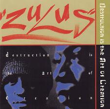 ZULUS – DESTRUCTION IS THE ART OF CREATION (1996 HIP HOP CD)
