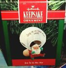 Joy Is In The Air`1990.Saint Nick Trying Something New,Hallmark Ornament->V Nice