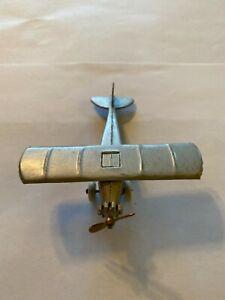 VINTAGE 1930's TOOTSIETOY UX 214 AERO DAWN AIRPLANE WING SPAN 3.75 INCHES