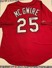 Mark McGwire Signed St Louis Cardinals Authentic Majestic Jersey PSA/DNA