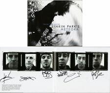 Linkin Park SIGNED Meteora HC  FULL LETTER PSA/DNA AUTOGRAPHED