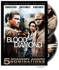 DVD - Action - Blood Diamond - Leonardo DiCaprio - Jennifer Connelly - Hounsou