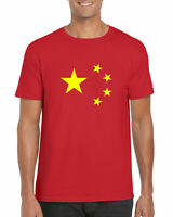 China Star T-Shirt, As On The Chinese Flag Gifts Kids & Adults Tee Top