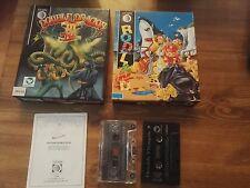 Double Dragon III 3 & Rodland edición tormenta software en Caja-Commodore 64 128