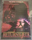 vintage Portal consumer poster~ STAR WARS RETURN OF THE JEDI red version ~ 24x36