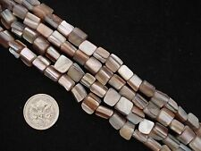 Mother of Pearl Beads 40cm Strand Pearl Necklace Shell Jewellery FREE POSTAGE