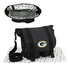 Green Bay Packers Black Diaper Bag