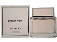 Dahlia Noir Givenchy 2.5 oz 75ml Spray Eau de Toilette EDT For Women /