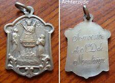 Oude heiligenmedaille uit Scherpenheuvel (zilver?)