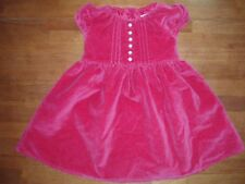 Toddler Girls Red Velvet Empire Waist Dress  Size 2 Years by GAP   LN!!