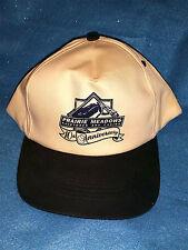 PRAIRIE MEADOWS Racetrack & Casino-10th Anniversary-1999-Baseball Cap/Hat-NOS