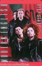 Modern English 1986 Stop Start Original Promo Poster