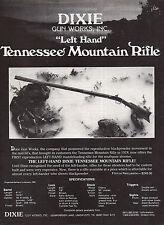 1981 TENNESSEE MOUNTAIN Left Hand RIFLE Photo Dixie Gun Works AD