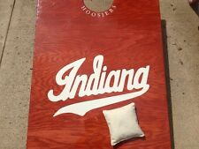 "8 IU Indiana University Cornhole Bag Toss Decals: ""Indiana"" And/Or Pitchforks"