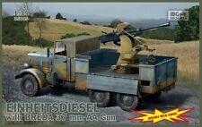 SPAAG Henschel/Man einheitsdiesel con 3,7cm Breda (Wehrmacht MKGS) 1/35 Ibg
