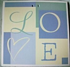 "20 Love Inserts (7"" x 7"") For Your Wedding Anouncements Free Shipping."