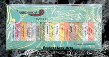 Auroshikha Incense Stick Sampler Marble Pack Collection 18 Fragrances NEW {:-)