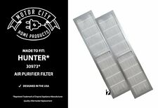 2 Filters for Hunter 30973 Air Purifier 30890 & 30895 Models