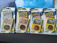 Unbroken Bonds Eevee Pikachu Checklane Blister Pack x4 | Sealed NEW Pokemon