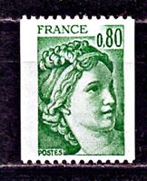 TIMBRE FRANCE  N° 1980  SABINE ROULETTE   NEUF SANS CHARNIERE