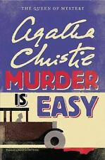 NEW Murder Is Easy by Agatha Christie Hardcover Book (English) Large Print