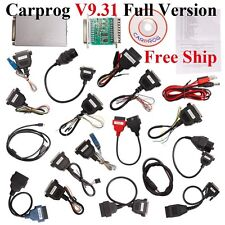 V9.31 Carprog Full Version With 21 Adapters Airbag Reset Tool For Audi, VW, etc
