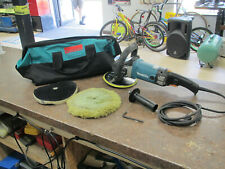 """Makita 9237C 7"""" Corded Electric 10A Variable Speed Polisher in Bag"""