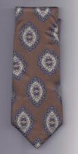 "Wolf Brothers Series 100% silk Tie 58"" long 3 1/2"" wide"