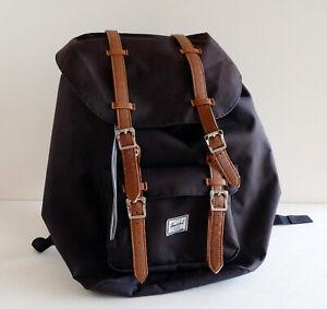 Herschel Little America Rucksack, Backpack, Laptoprucksack, Schwarz & Braun