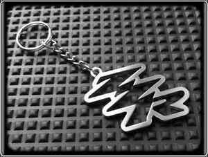 Keyring for KAWASAKI ZZR - Stainless Steel, Hand Made, Key Chain Loop Fob