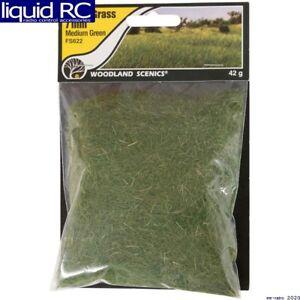 Woodland Scenics FS622 Static Grass Medium Green 7mm