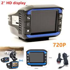 2in1 HD 720P Car DVR Detector Camera Video Recorder Dash Cam Radar Laser Speed