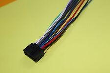 Wire Harness for Kenwood KDC-X597 KDC-105U KDC-X497  (100% Copper), NEW