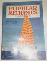 Popular Mechanics Magazine Cabin Catamaran November 1951 091214R