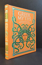 GREEK MYTHS by NATHANIEL HAWTHORNE (Children's Classic Collectibles - Leather)