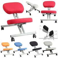 Adjustable Kneeling Stool Chair Ergonomic Orthopaedic Posture Seat Home Office.